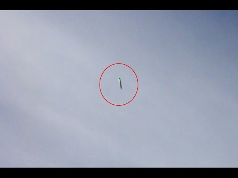 Cigar shaped UFO filmed over the North East of England