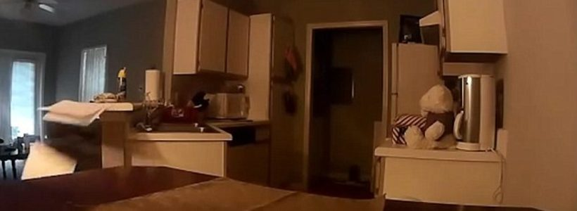 Man shares footage of his haunted house
