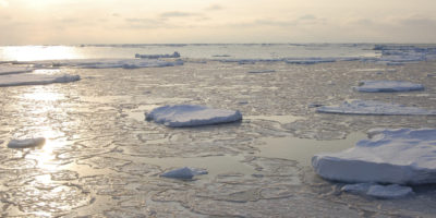 Could we REFREEZE the Arctic using giant pumps?
