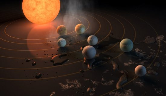 SEVEN Earth-like planets – three of which could support alien life just 39 light years away