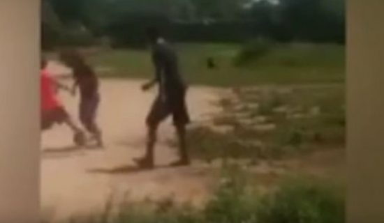 Children Run In Horror After Seeing Goblin Whilst Playing