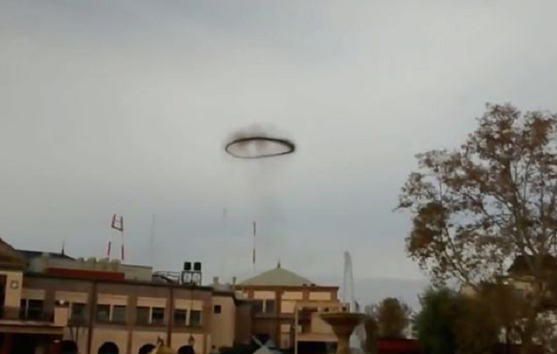 Unknown Ring Filmed In The Skies Over Argentina
