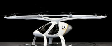 The flying taxi set for liftoff: 18 rotor Volocopter gets go ahead to begin trials