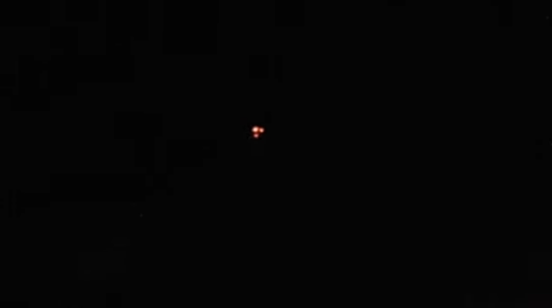 Triangle UFO sighting filmed over Barrie in Ontario Canada – 27th February 2017.