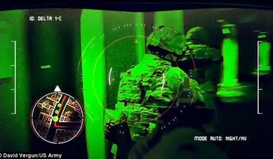 US troops to get 'tactical augmented reality' glasses