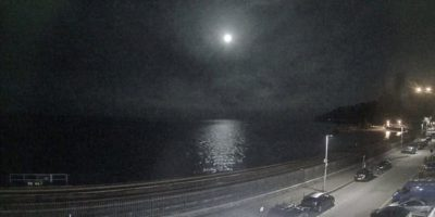 Incredible fireball is seen hurtling to Earth off the Devon coast