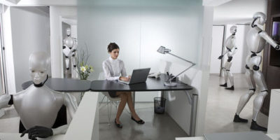 Robots to replace humans in all work within 120 years