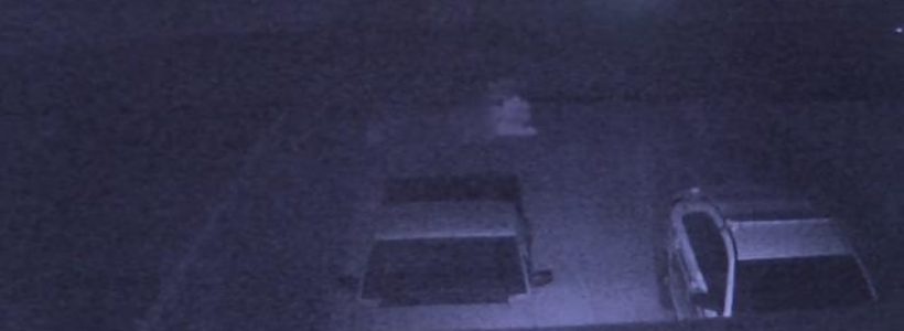 Ghost Filmed Moving Across Driveway