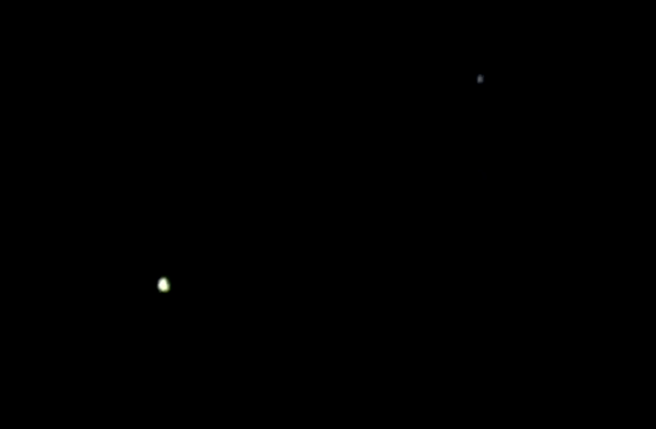 UFO Sighting with Blinking Lights over Canberra, Australia