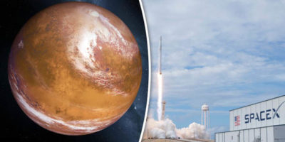 Elon Musk outlines plans to take people to Red Planet and MOON base by 2022