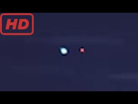 UFO Lights Spotted Over Moscow, Russia 2016