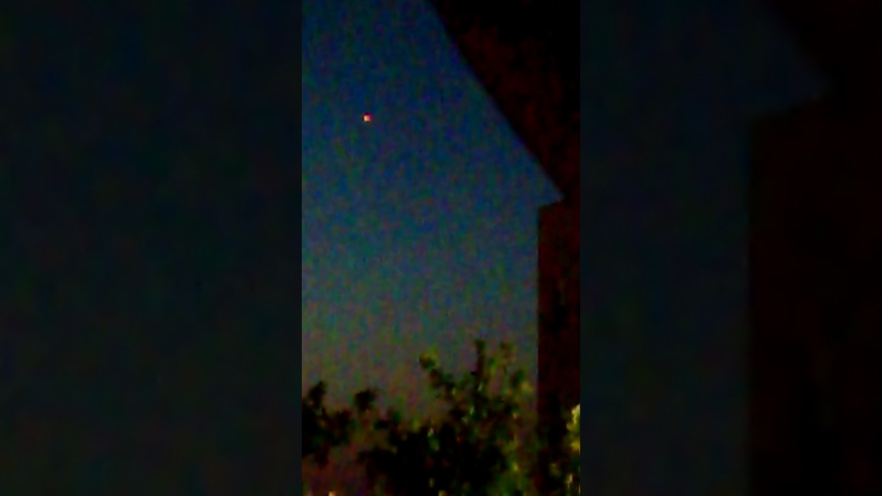 UFO Sightings Caught On Tape In Newark New Jersey