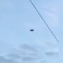 Circle Shaped UFO Sighting Filmed Near Military Base