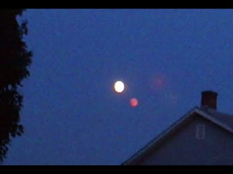 Mysterious Red Object Filmed Next To The Moon – Pennsylvania – August 24, 2018