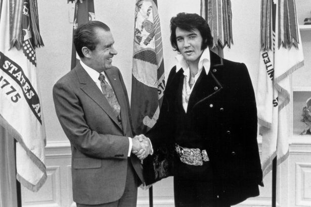 Elvis Presley was an FBI operative who faked his own death conspiracists claim