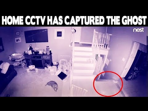 Ghost Of Young Child Playing In Haunted House
