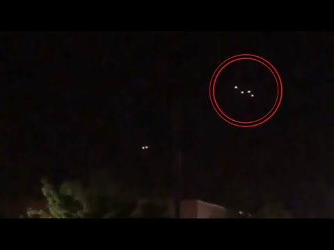 UFO Sighting Filmed Over Somers Point, USA