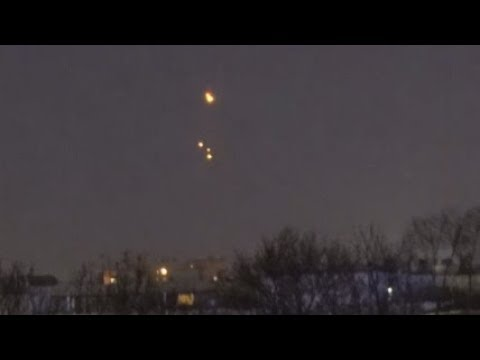 UFO NEWS ~ A glowing UFO appears in a woodland in Belgium plus MORE Ufos-releasing-orbs-over-st-pete