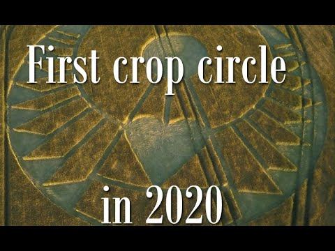 New Heart Shaped Crop Circle Has Appeared in England – May 2020