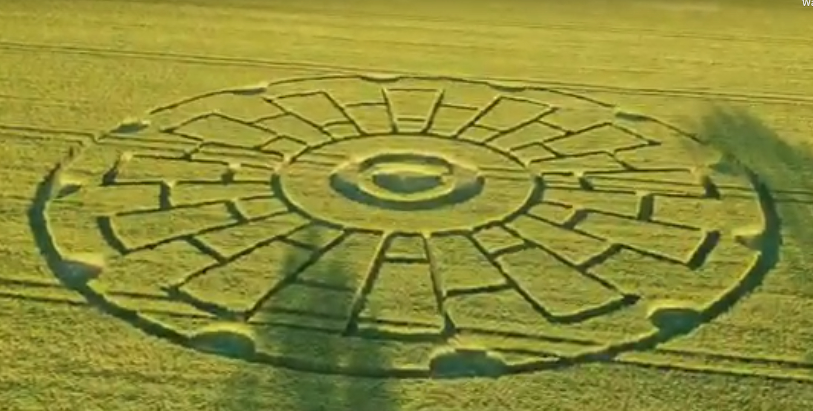 New Crop Circle Found In Lauragais, France -31st May 2020