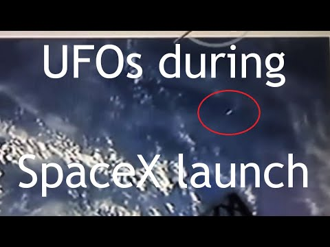 Multiple UFOs filmed during SpaceX launch – 30th May 2020