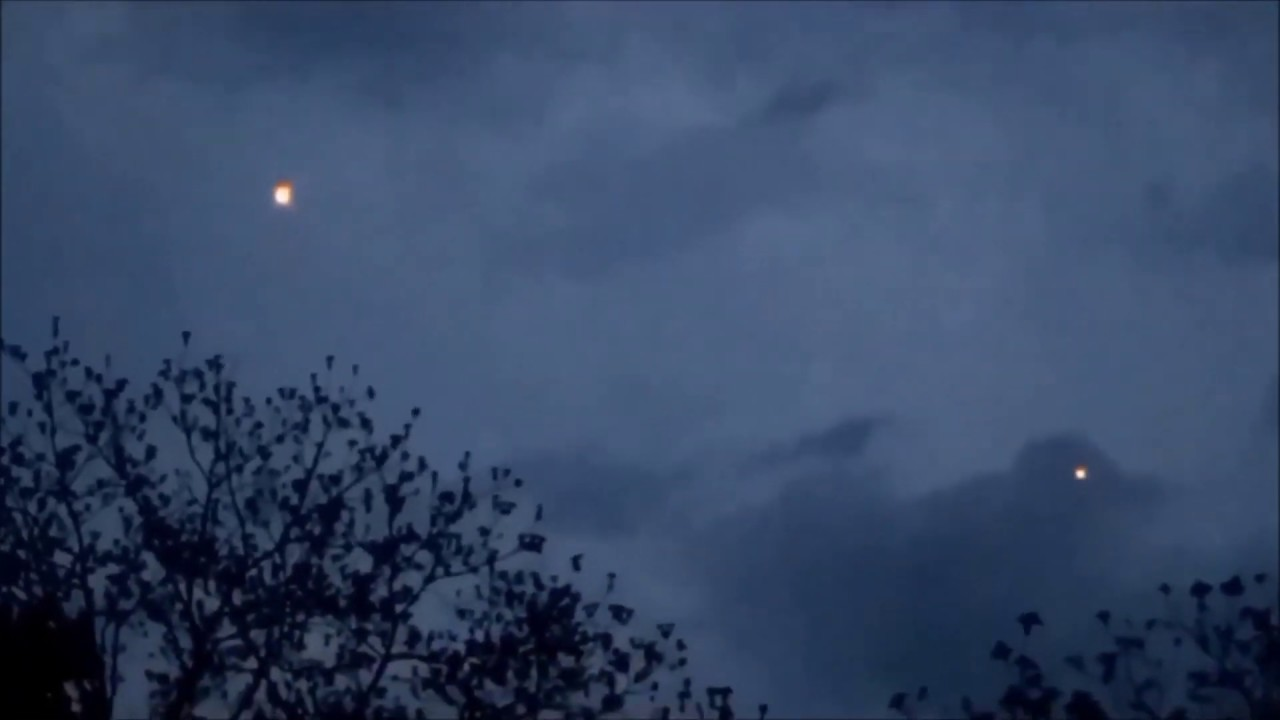 Multiple UFOs Filmed Over Frankfort, New York – 27th May 2020