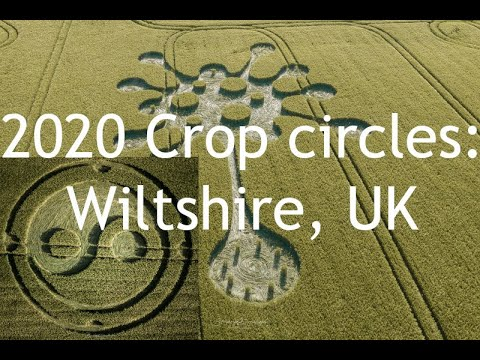 New crop circles discovered in Wiltshire, UK – May 2020
