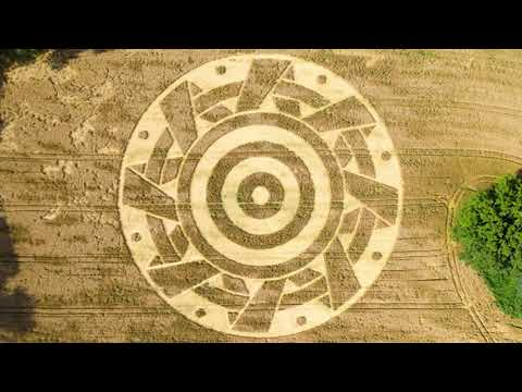 New Crop Circle Discovered In Ammersee, Germany – 26th July 2020