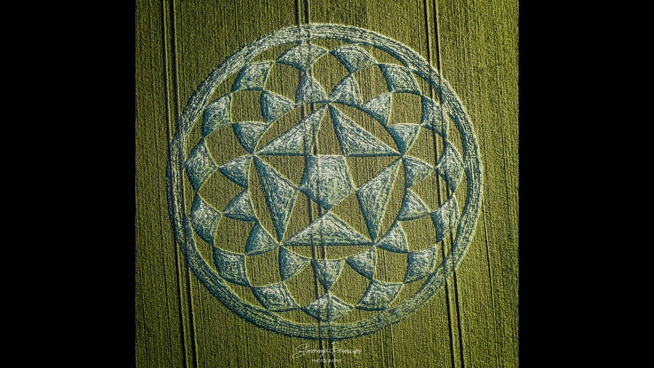 New Crop Circle Discovered In Hampshire in United Kingdom – 29th June 2020
