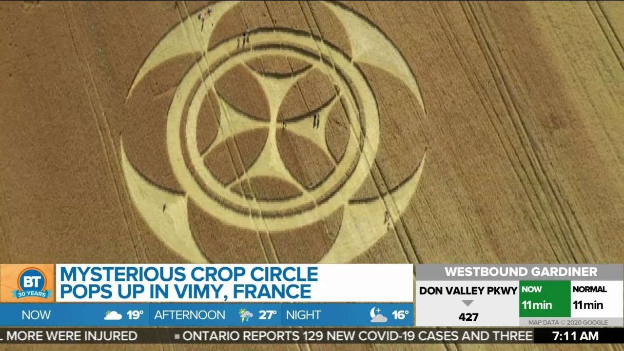 New Crop Circle Discovered With the Templar Cross