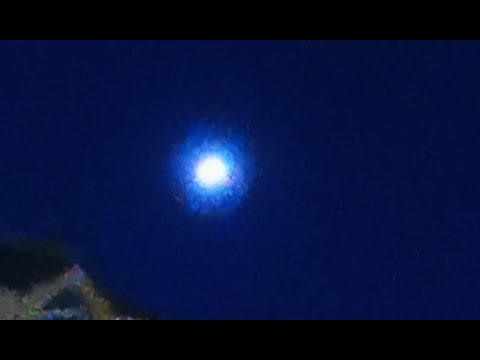 Huge bright UFO filmed over Vancouver, Canada – 17th August 2020
