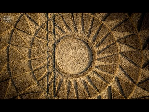 New Crop Circle Appeared In Oxfordshire – 9th August 2020
