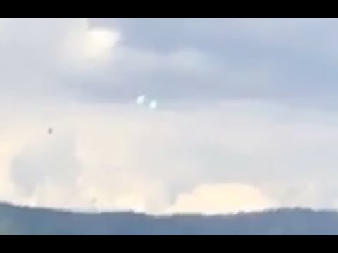 Two unknown objects hovering over Washoe Valley, Nevada
