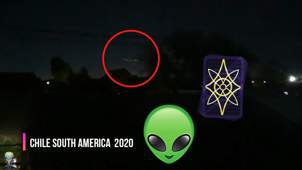 Large UFO Filmed over Chile, California and Texas! – 2020