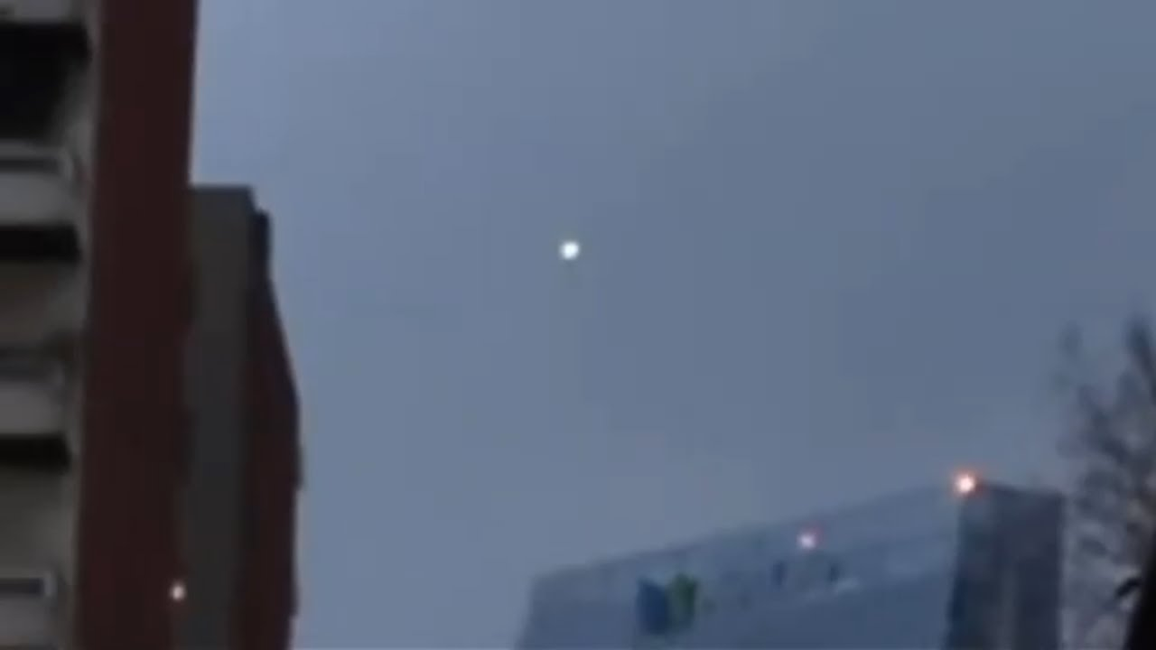 UFO Sighting Over Mexico City – December 2, 2020