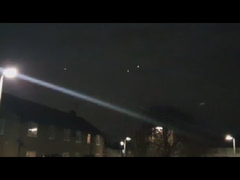 """Three UFO """"Orbs"""" Spotted Flying Over Hampshire In England – February 24, 2021"""