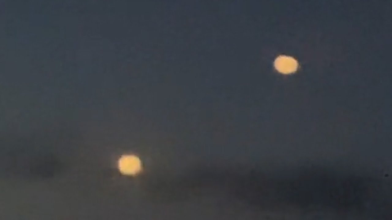 UFO activity filmed over Clearwater Beach, Florida – 20th March 2021