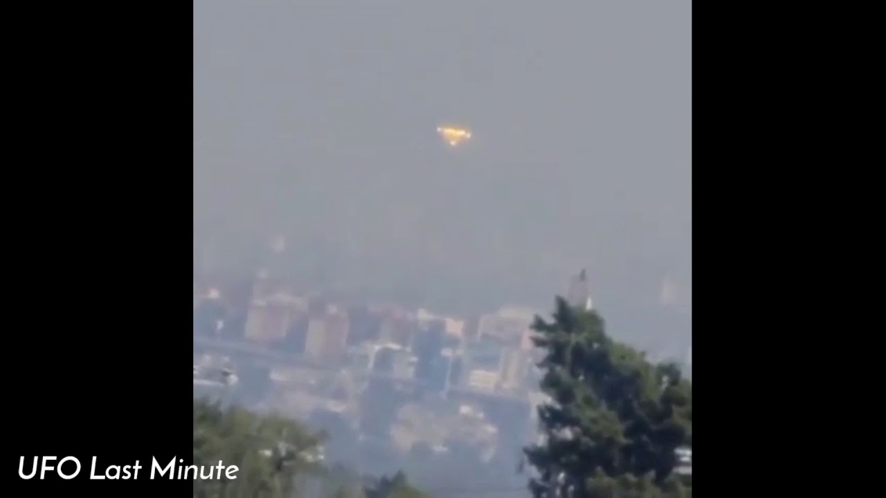 UFO sighting filmed over Mexico City – March 11, 2021