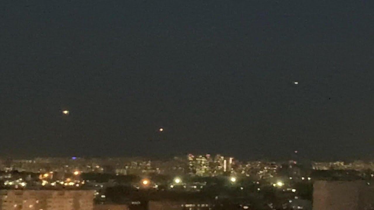 UFO sighting filmed over Moscow Russia – May 16th, 2021