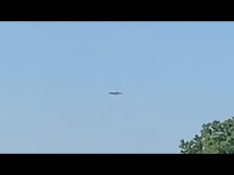Disk Shaped UFO Spotted Over Lake Michigan, Chicago – June 12, 2021