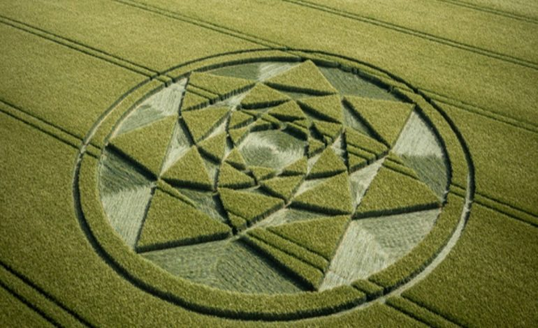 New crop circle discovered in Wiltshire – UK 14th June 2021