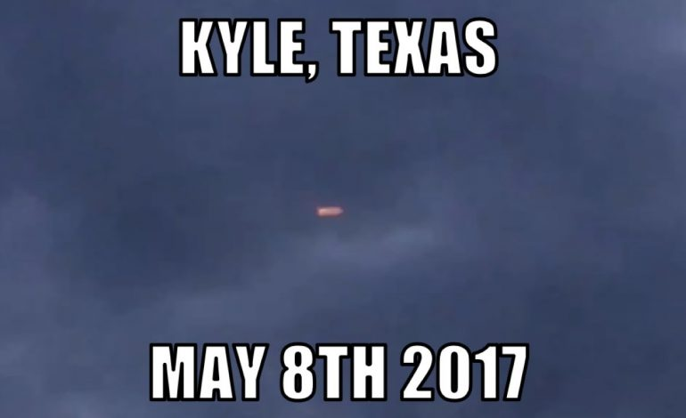 UFO sighting over Kyle, Texas – May 8th 2017