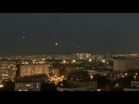UFOs Spotted Hovering over Moscow Russia – May 16 2021