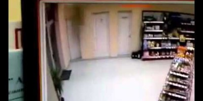 Another Ghost Sighting filmed in a Petrol station